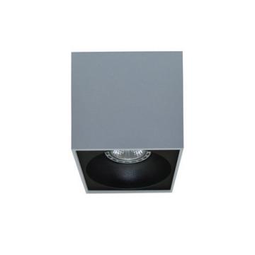 Rettangolare stropna lampa kvadratna 130 GU10 1x50W max. IP20 – Srebrna