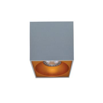Rettangolare stropna lampa kvadratna 130 GU10 1x50W max. IP20 - Srebrno/zlatno