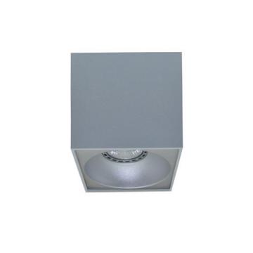Rettangolare stropna lampa kvadratna 130 GU10 1x50W max. IP20 - Srebrno/srebrno