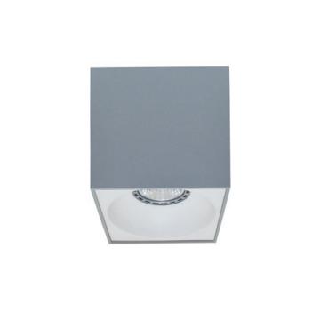 Rettangolare stropna lampa kvadratna 130 GU10 1x50W max. IP20 - Srebrno/bijelo