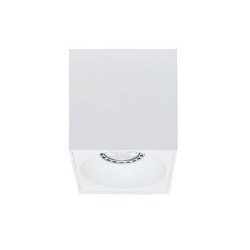 Rettangolare stropna lampa kvadratna 130 GU10 1x50W max. IP20 - Bijelo/bijelo