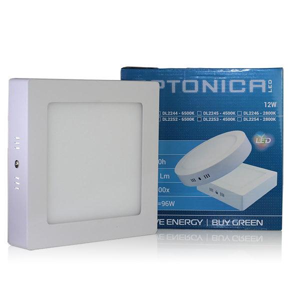 LED  panel kvadratni nadgradni 12W