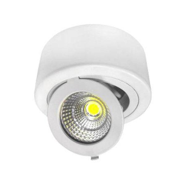 LED COB 12W downlight okrugli nadgradni