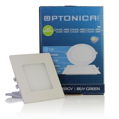 LED  panel kvadratni ugradni 3W