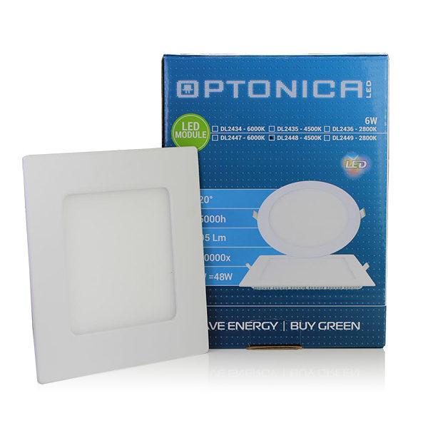 LED  panel kvadratni ugradni 6W