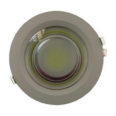 LED COB 10W downlight okrugli