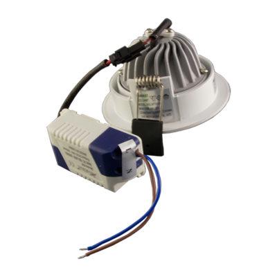 LED downlight okrugli 8W COB zakretni – Bijela