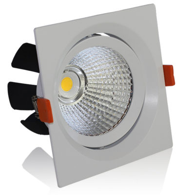 LED downlight kvadratni 20W COB zakretni