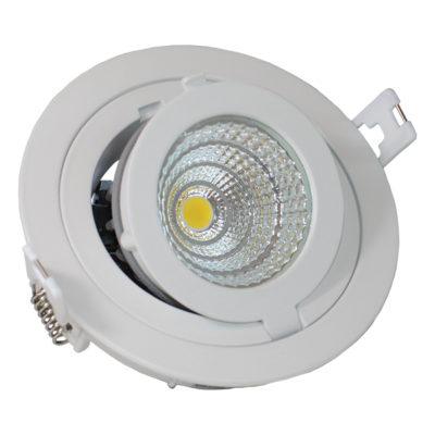 LED COB 12W downlight okrugli