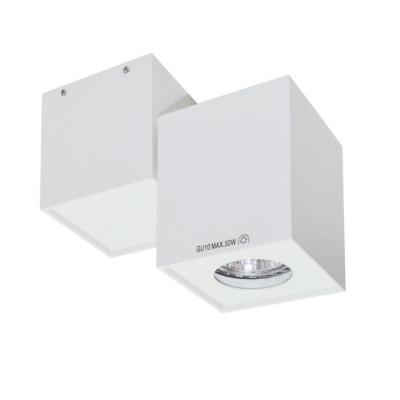 Faretto stropna lampa kvadratna GU10 1x50W max. IP20