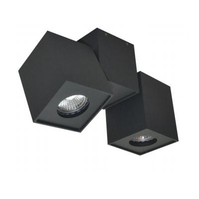 Faretto stropna lampa kvadratna GU10 2x50W max. IP20