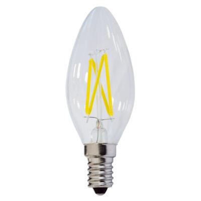 LED žarulja E14 C35 4W filament