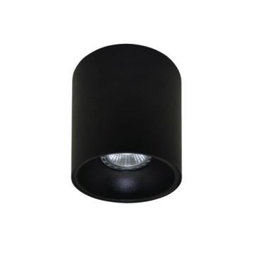 Rotondo stropna lampa okrugla 130 GU10 1x50W max. IP20 - Crno/crno