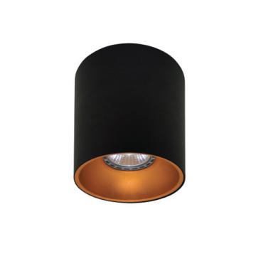 Rotondo stropna lampa okrugla 130 GU10 1x50W max. IP20 - Crno/zlatno