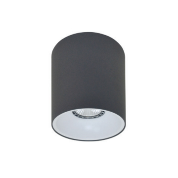 Rotondo stropna lampa okrugla 130 GU10 1x50W max. IP20 – Tamno siva