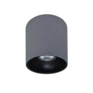 Rotondo stropna lampa okrugla 130 GU10 1x50W max. IP20 - Srebrno/crno