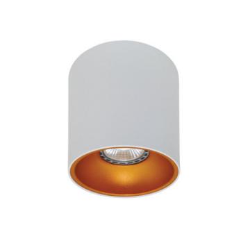 Rotondo stropna lampa okrugla 130 GU10 1x50W max. IP20 - Bijelo/zlatno