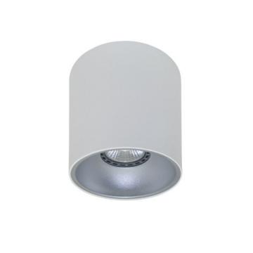 Rotondo stropna lampa okrugla 130 GU10 1x50W max. IP20 - Bijelo/srebrno