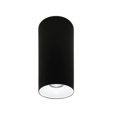 Rotondo stropna lampa okrugla 254 GU10 1x50W max. IP20 - Crno/bijelo