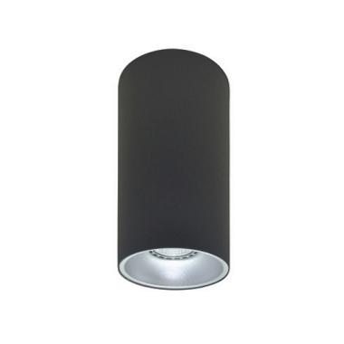 Rotondo stropna lampa okrugla 254 GU10 1x50W max. IP20 - Tamno sivo/srebrno