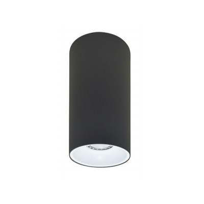 Rotondo stropna lampa okrugla 254 GU10 1x50W max. IP20 - Tamno sivo/bijelo