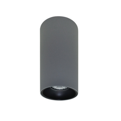 Rotondo stropna lampa okrugla 254 GU10 1x50W max. IP20 - Srebrno/crno