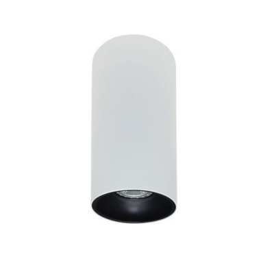 Rotondo stropna lampa okrugla 254 GU10 1x50W max. IP20 - Bijelo/crno