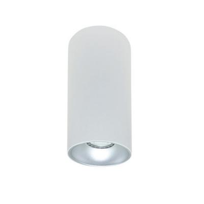 Rotondo stropna lampa okrugla 254 GU10 1x50W max. IP20 - Bijelo/srebrno