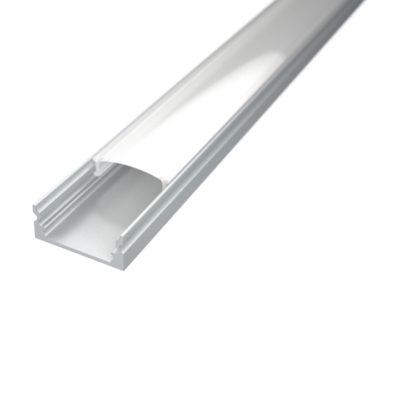 Profil za LED traku nadgradni 1 + mliječni poklopac
