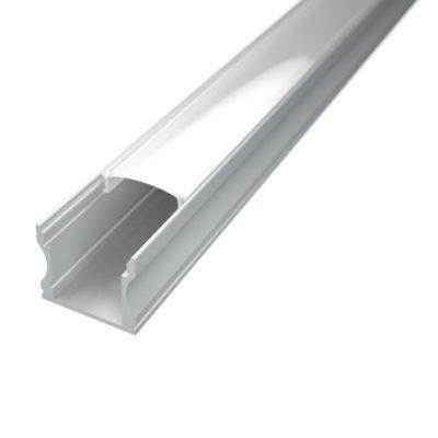 Profil za LED traku nadgradni 2 + mliječni poklopac