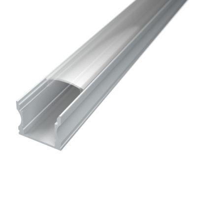 Profil za LED traku nadgradni 2 + prozirni poklopac