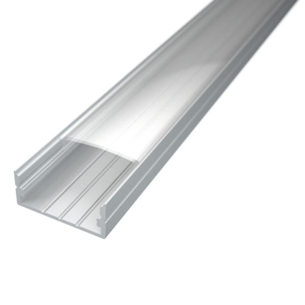 Profil za LED traku nadgradni 3 + prozirni poklopac