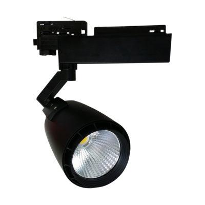 LED tračni reflektor 33W COB 3-phase – Crni