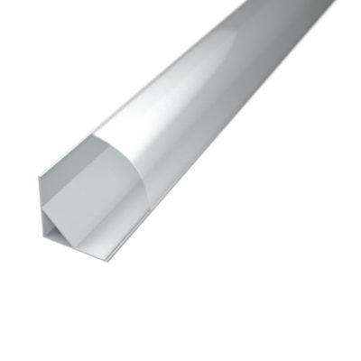 Profil za LED traku kutni 2 + prozirni poklopac