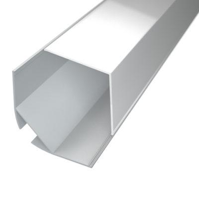 Profil za LED traku kutni 5 + mliječni poklopac
