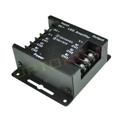Pojačalo za LED traku RGB 12-24V, 144-288W