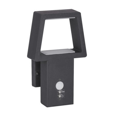 LED lampa Arizona sa senzorom 10,5W 3000K IP44