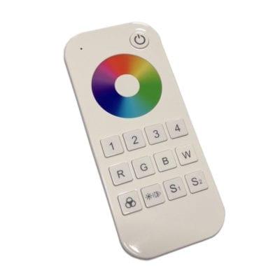 Daljinski za LED kontroler, RGB/W RF, 4 zone RT9