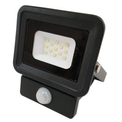 LED reflektor 10W SMD sa senzorom, crni
