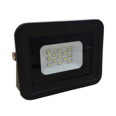 LED reflektor crni 10W SMD IP65