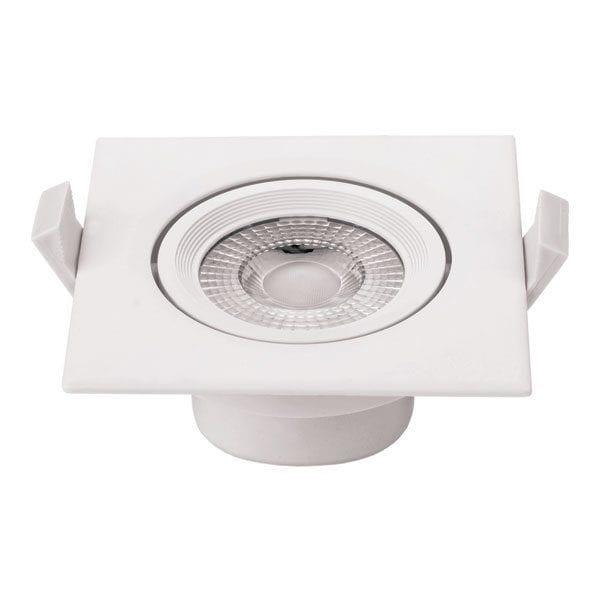 LED downlight kvadratni ugradni 7W