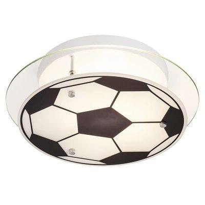 Stropna lampa Frankie, nogometna lopta 1xE27 max.14W IP20