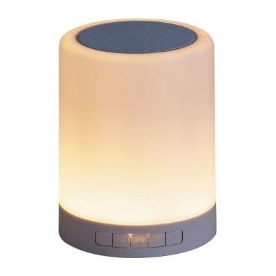 Lampa + bluetooth zvučnik Kendall LED 2W RGB IP20 dimabilna