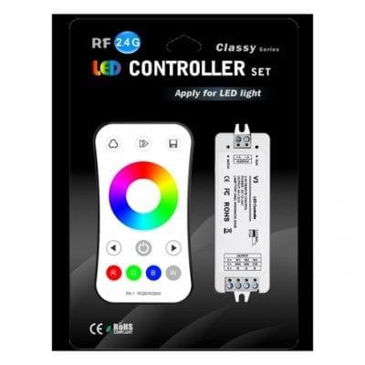 Kontroler i daljinski za RGB LED traku  RF 2.4G 3CH 3*4A V3