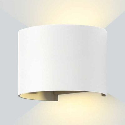 LED 2 zidna lampa 6W 660lm IP54