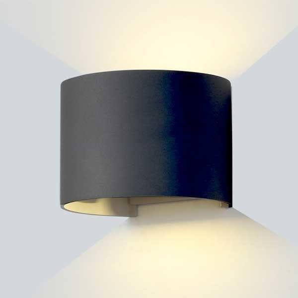LED 2 zidna lampa 6W 660lm IP54