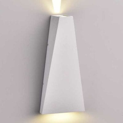 LED CREE zidna lampa 6W 660lm IP54, siva, 3000K