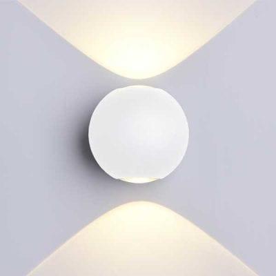 LED CREE 2 zidna lampa 6W 660lm IP54, bijela, 3000K