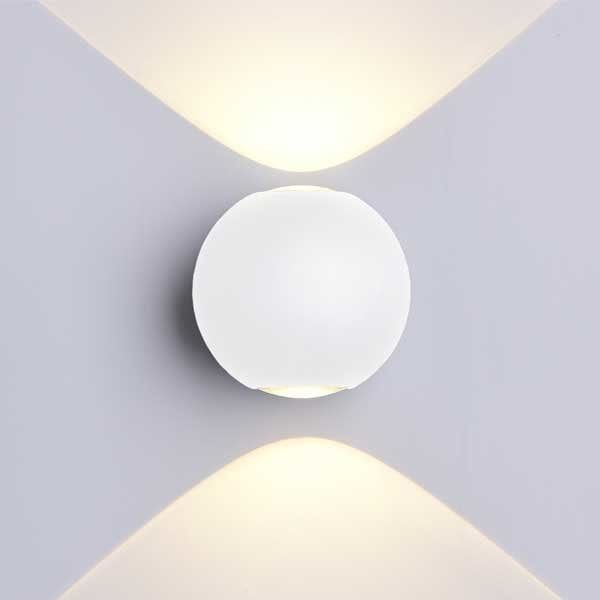 LED CREE 2 zidna lampa 6W 660lm IP54