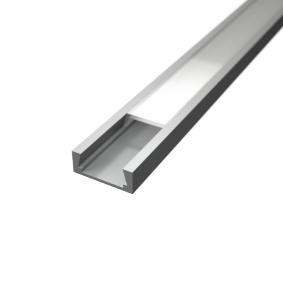 Profil za LED traku nadgradni 6 + mliječni poklopac, 2m